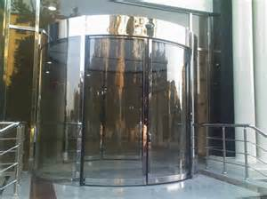 Curved sliding doors