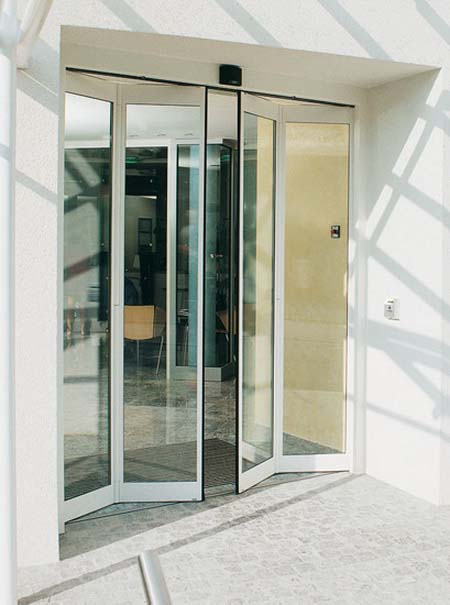 Auto folding doors comech engineering specialists in