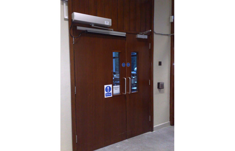 Disabled Access Doors  sc 1 st  Comech Engineering & Disabled Access Doors - Comech Engineering Specialists in Loading ...