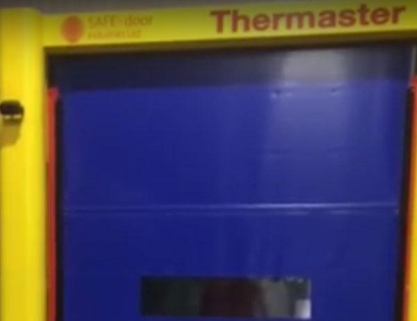 Coldstore High Speed Door Installation