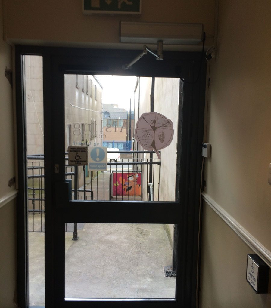 & Disabled Access Door Installation Aisling Centre Enniskillen ...