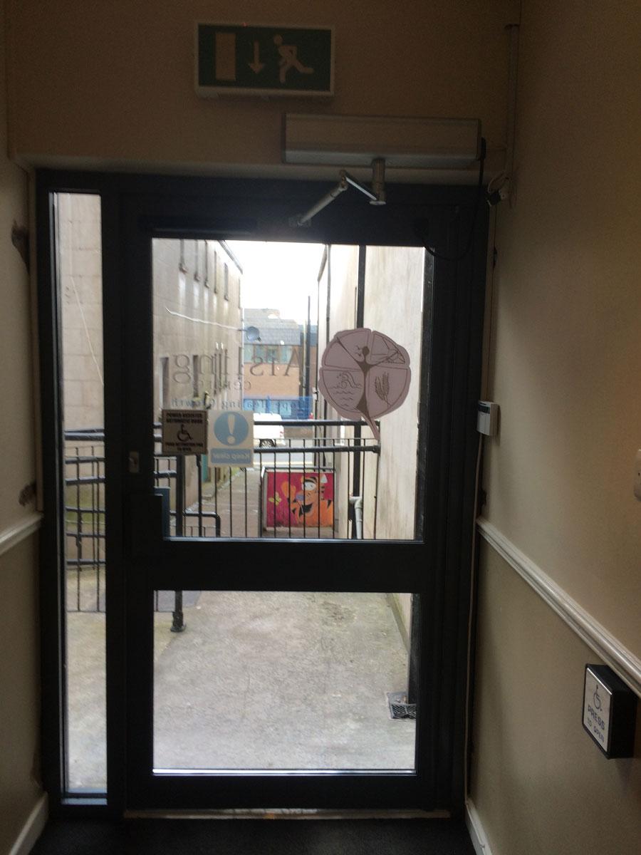 & Disabled Access Door Installation Aisling Centre Enniskillen ...