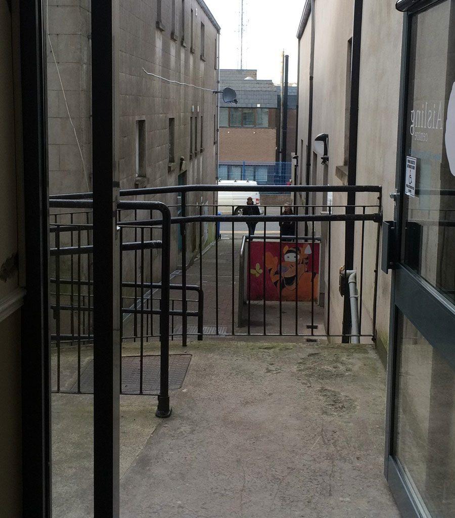 Disabled Access Door Installation, Aisling Centre Enniskillen