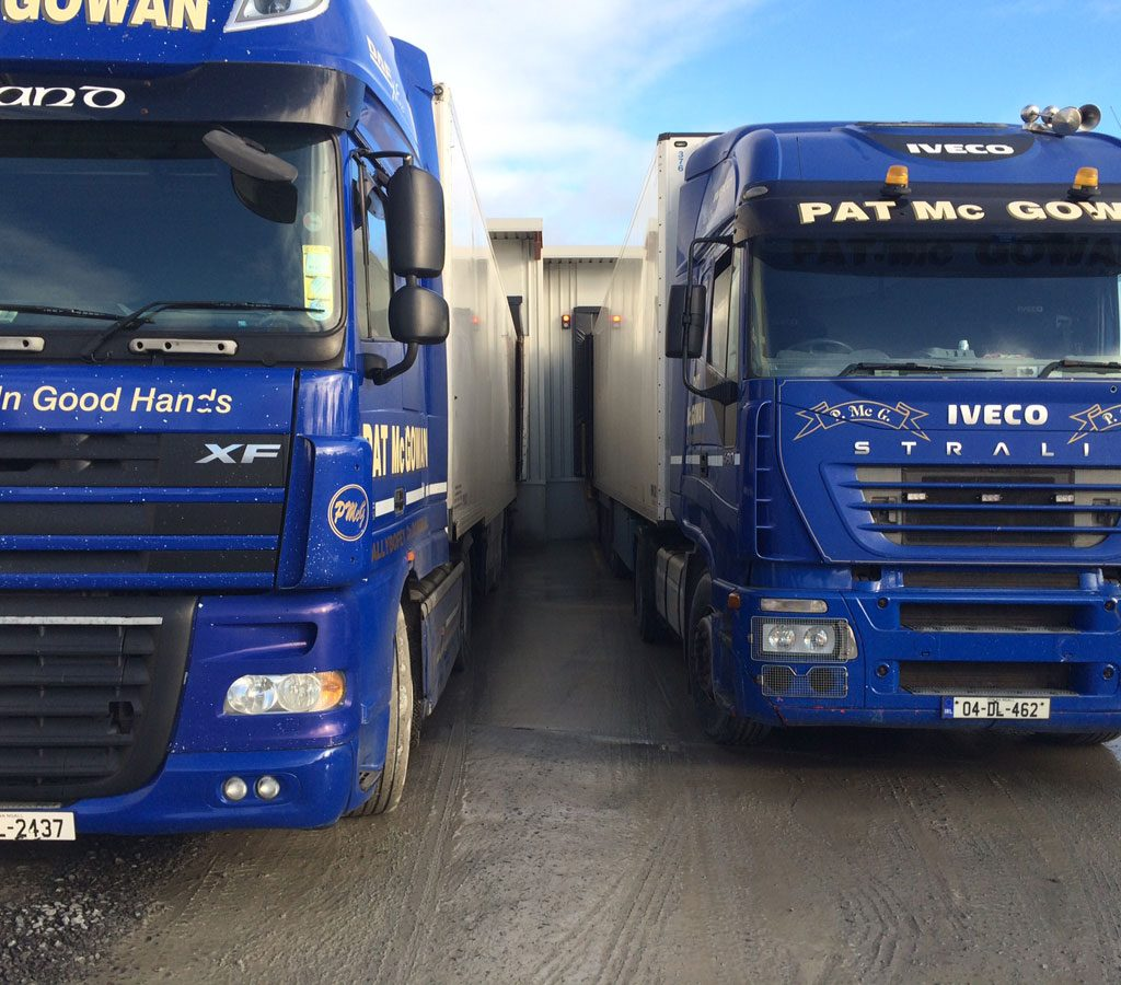 Loading Bay Installation For Pat Mc Gowan Transport