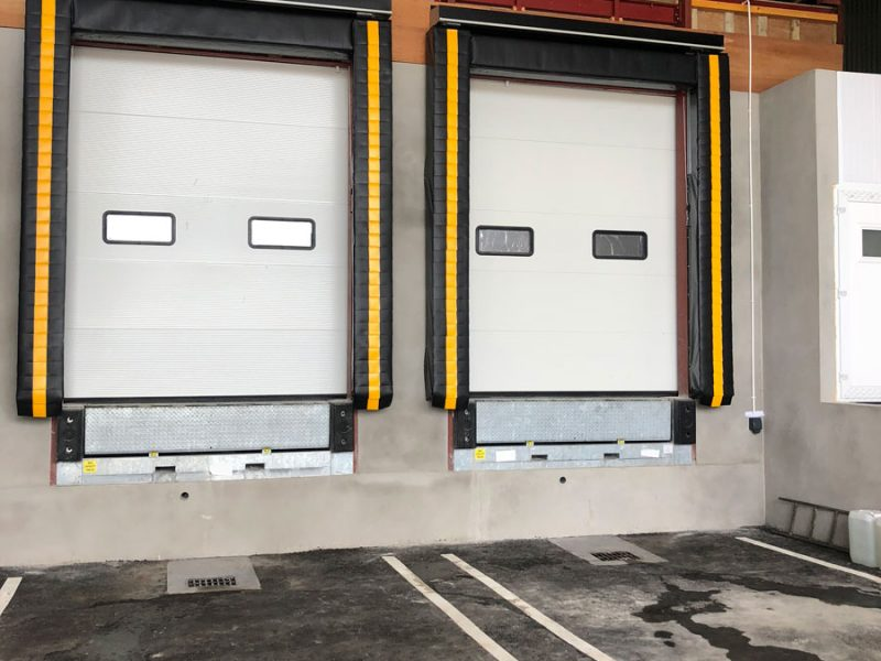 Two Custom Specified Loading Bays For Top Mushroom Producers