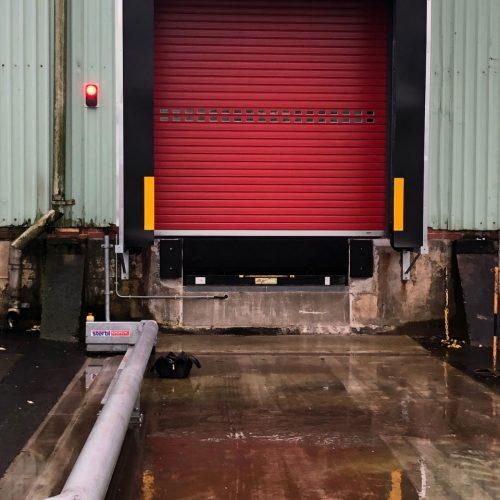 Lycra / Kevlar Loading Bay Installation