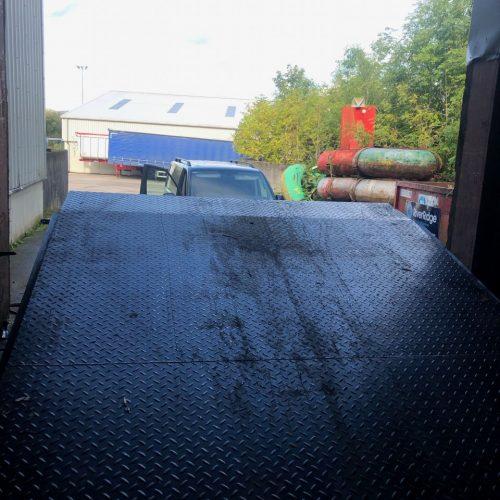 15 Tonne Dock Leveller Installed
