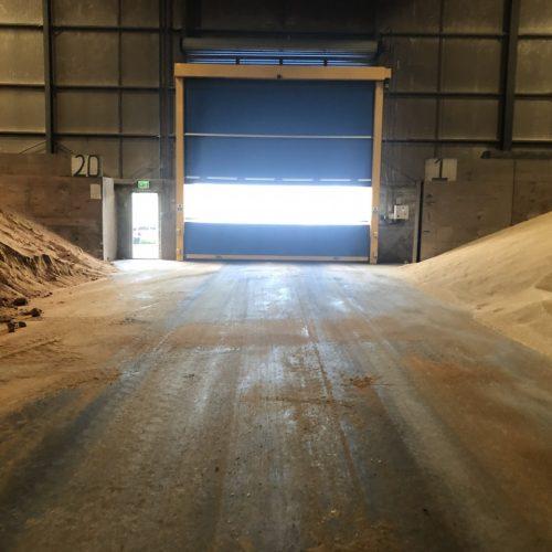 Lisnahally Docks Grain Store High Speed Door Installation