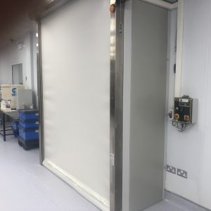 Medical Device Production Airlock Installation
